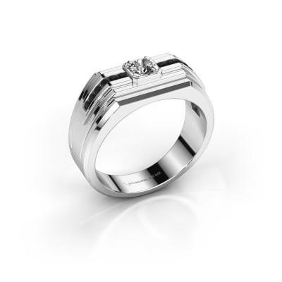 Foto van Heren ring Oliver 925 zilver zirkonia 4 mm