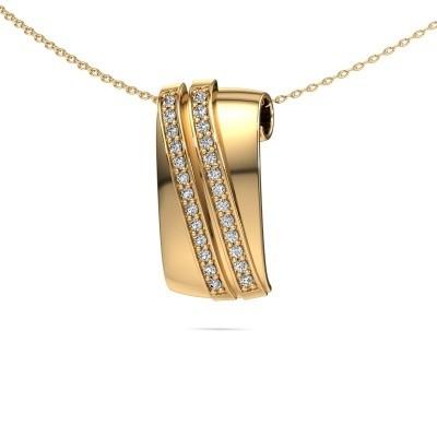 Hanger Sithri 585 goud diamant 0.312 crt
