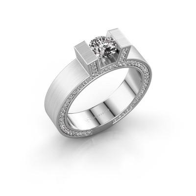 Foto van Ring Leena 2 925 zilver diamant 1.08 crt