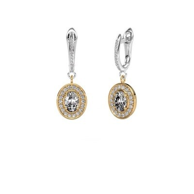 Picture of Drop earrings Layne 2 585 gold diamond 1.99 crt