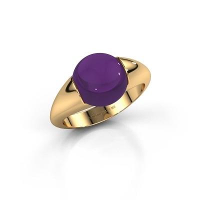 Foto van Ring Robine 585 goud amethist 10 mm