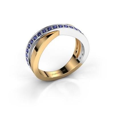 Foto van Ring Essie 585 goud saffier 1.5 mm