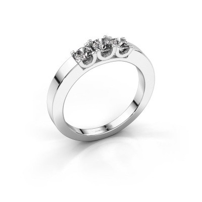 Foto van Verlovingsring Selina 1 585 witgoud diamant 0.50 crt