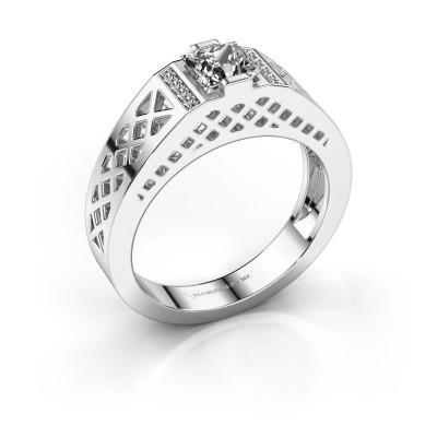 Foto van Heren ring Jonathan 925 zilver diamant 0.834 crt