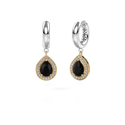 Picture of Drop earrings Barbar 1 585 gold black diamond 2.445 crt