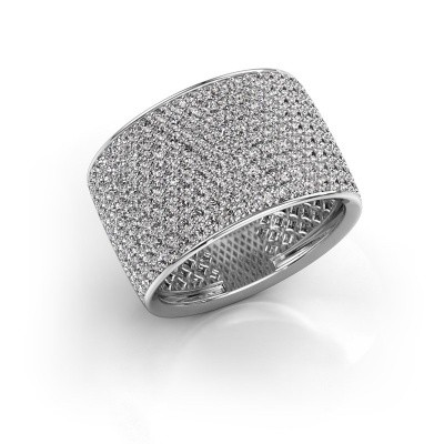 Foto van Ring Macy 585 witgoud diamant 2.26 crt