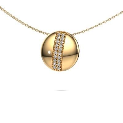 Collier Marylyn 585 goud diamant 0.15 crt