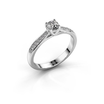 Picture of Engagement ring Mia 2 585 white gold diamond 0.418 crt