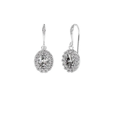 Foto van Oorhangers Jorinda 2 950 platina diamant 2.19 crt