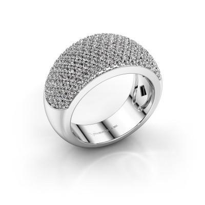 Ring Kati 585 witgoud diamant 1.20 crt