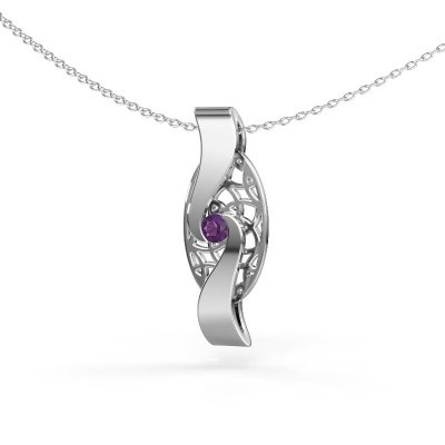 Picture of Pendant Darleen 585 white gold amethyst 3 mm
