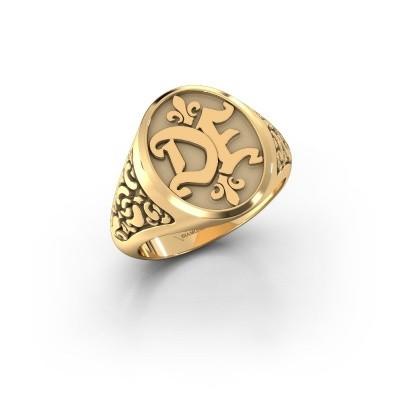 Bild von Monogram Ring Brian 585 Gold