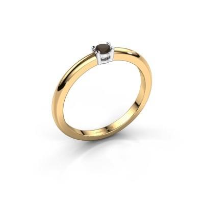 Foto van Verlovingsring Michelle 1 585 goud rookkwarts 2.7 mm