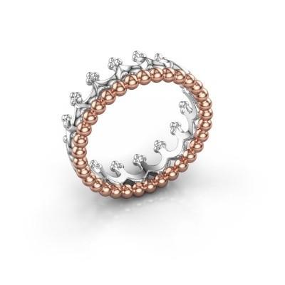 Foto van Ring Star 585 rosé goud