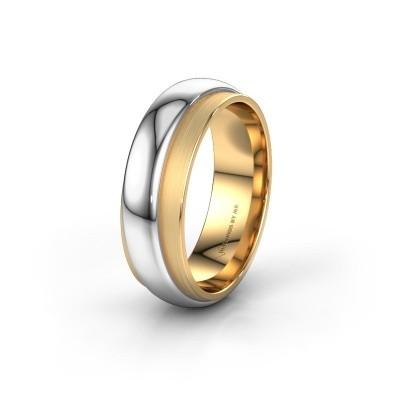 Trouwring WH2038M 585 goud ±7x2.4 mm