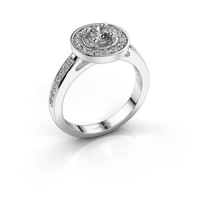 Verlovingsring Lisanne 585 witgoud diamant 0.55 crt
