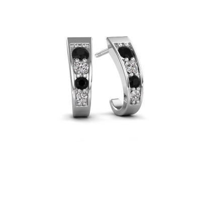 Picture of Earrings Glady 925 silver black diamond 0.572 crt