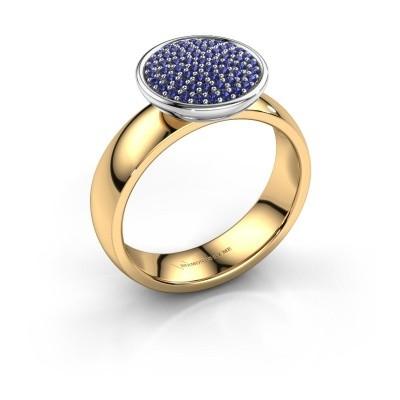 Foto van Ring Tilda 585 goud saffier 1 mm