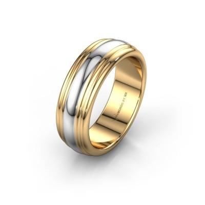 Trouwring WH2234LN 585 goud ±6x2.2 mm