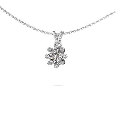 Foto van Hanger Carola 3 950 platina diamant 0.84 crt