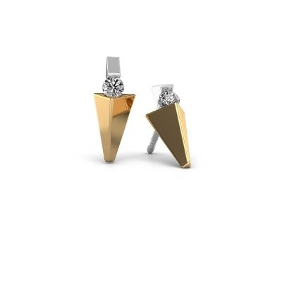 Picture of Earrings Corina 585 gold diamond 0.20 crt