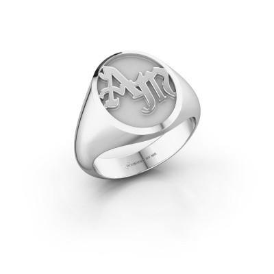 Foto van Monogram ring Brad 925 zilver