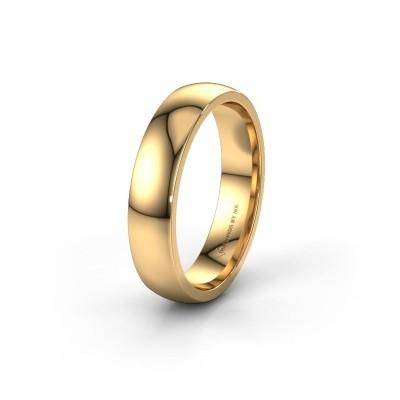 Trouwring WH0100M25BP 585 goud ±5x2 mm