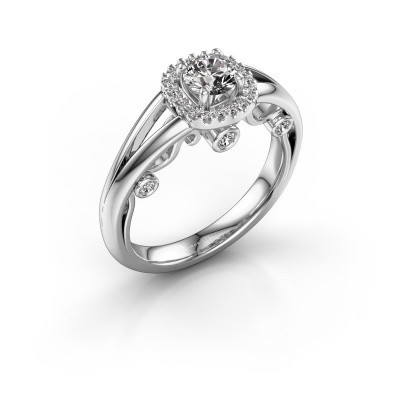 Picture of Engagement ring Carina 585 white gold diamond 0.61 crt