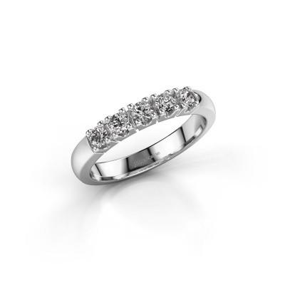 Foto van Aanzoeksring Rianne 5 585 witgoud diamant 0.40 crt