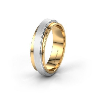 Trouwring WH2220M16D 585 goud ±6x2.4 mm