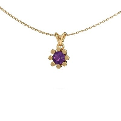 Picture of Pendant Carola 1 585 gold amethyst 5 mm