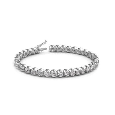 Tennisarmband Bianca 585 witgoud diamant 8.75 crt