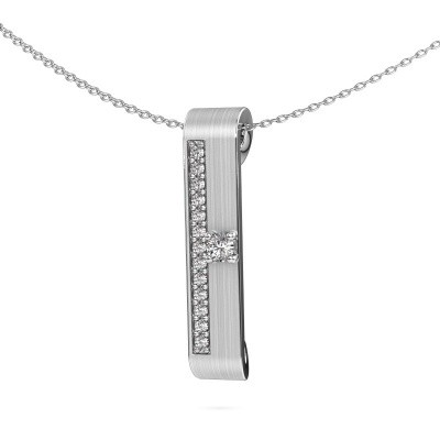 Picture of Necklace Vicki 585 white gold diamond 0.295 crt