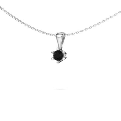 Picture of Necklace Fay 950 platinum black diamond 0.30 crt