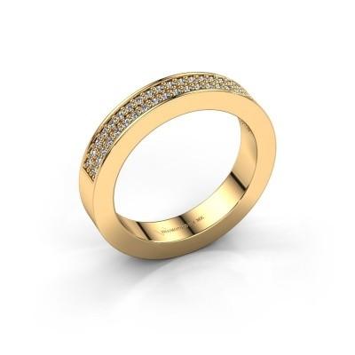 Aanschuifring Catharina 2 585 goud diamant 0.295 crt