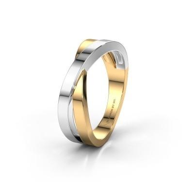 Trouwring WHM0360M 585 goud ±6x2.6 mm