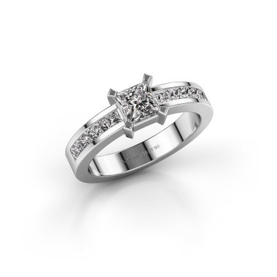 Picture of Engagement ring Emilia 585 white gold diamond 1.00 crt