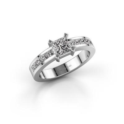Foto van Verlovingsring Emilia 585 witgoud diamant 1.00 crt