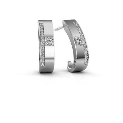 Bild von Ohrringe Vick1 950 Platin Diamant 0.230 crt
