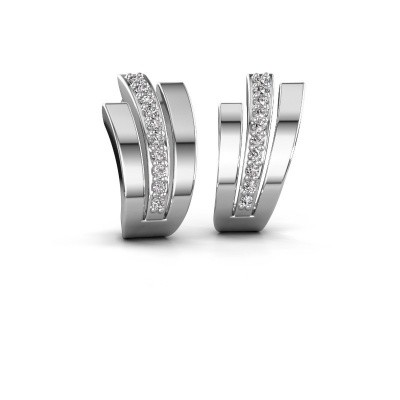 Picture of Earrings Emeline 925 silver diamond 0.20 crt