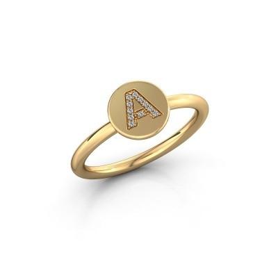 Foto van Ring Initial ring 050 585 goud