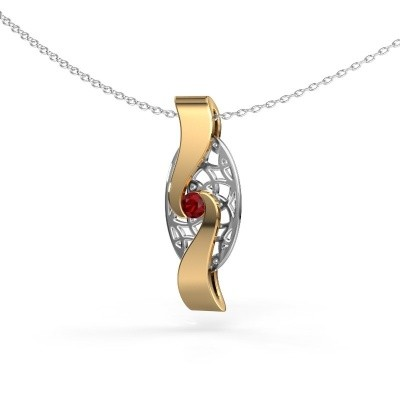 Picture of Pendant Darleen 585 gold ruby 3 mm
