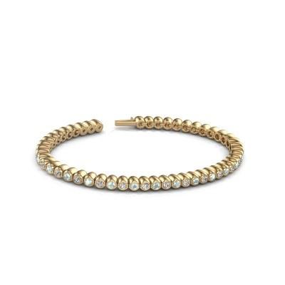 Foto van Tennisarmband Patrica 375 goud diamant 2.75 crt