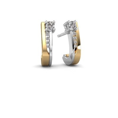 Picture of Earrings Jewell 585 gold diamond 0.218 crt