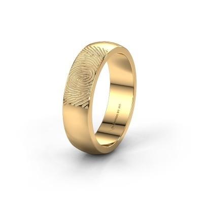 Trouwring WMH0420M26BP 585 goud ±6x1.5 mm