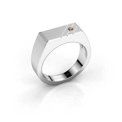 Foto van Heren ring Dree 5 925 zilver rookkwarts 2.4 mm