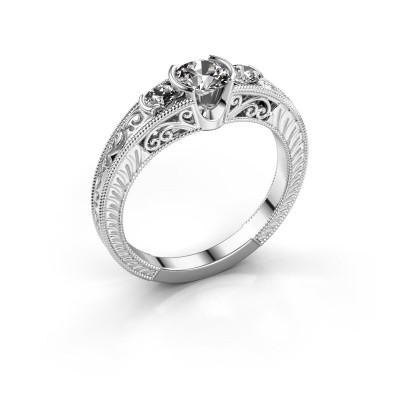 Promise ring Tasia 585 witgoud diamant 0.70 crt