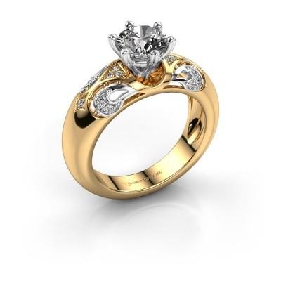 Bild von Ring Maya 585 Gold lab created 1.105 crt