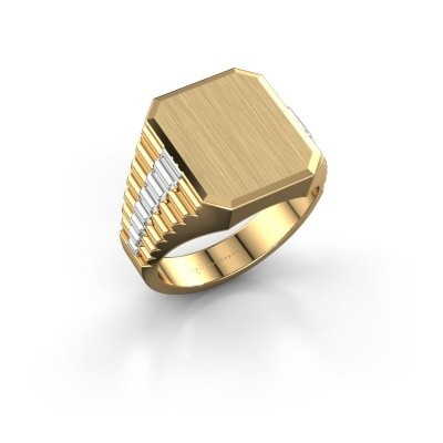 Bild von Rolex stil Ring Erik 3 585 Gold