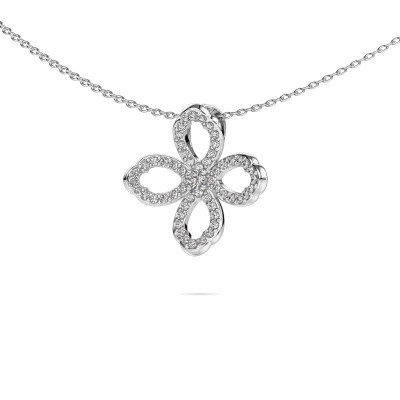 Picture of Necklace Chelsea 925 silver zirconia 2 mm
